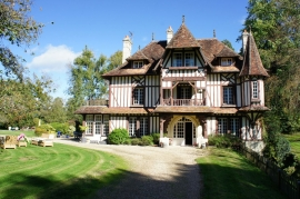 LOVELY STUD FARM WITH MANOR - 41 HA - DEAUVILLE